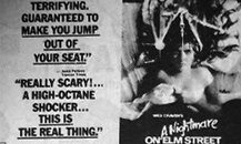 A Nightmare on Elm Street Newspaper Ad