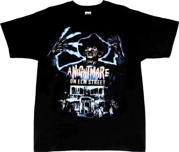 nightmare on elm street t shirt kkclub 2016