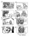 Freddy Fan Club Storyboard Reproduction