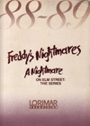 Freddy's Nightmares Press Kit Wrap Folder (Front)