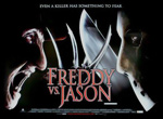 Freddy vs. Jason UK Movie Poster