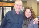 Wes Craven and Heather Lagenkamp