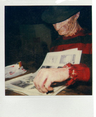 Robert Englund as Freddy Krueger Reviews Pete von Sholly's Portfolio