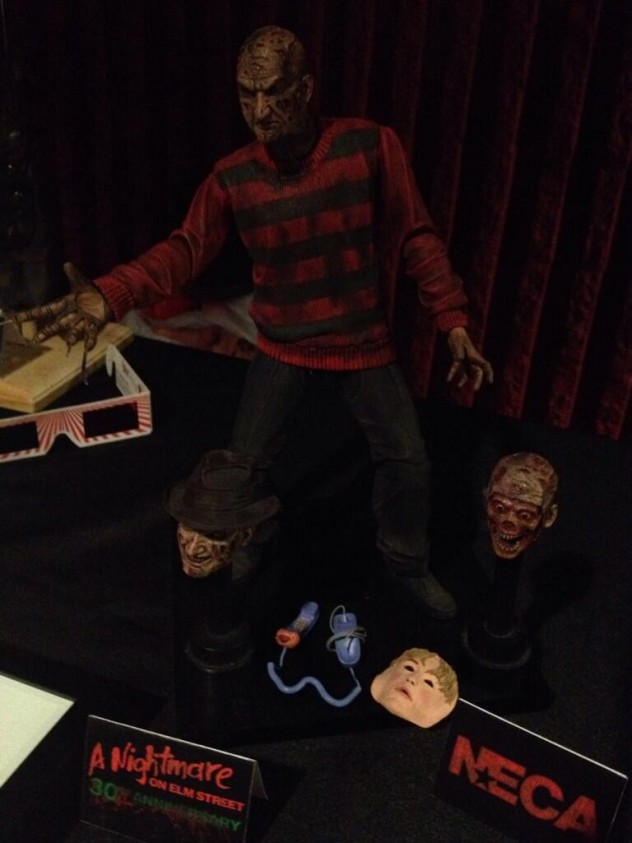 Ultimate Freddy Krueger figure by NECA Collectables
