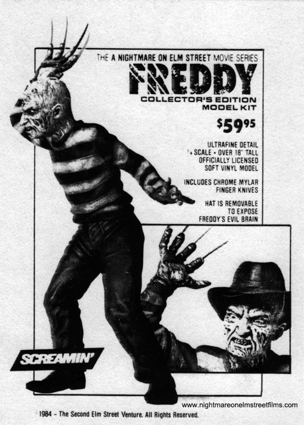 Screamin's Freddy Collector's Edition Model Kit