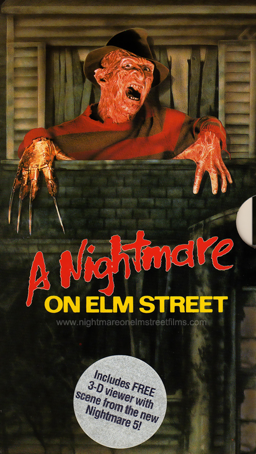 A Nightmare on Elm Street VHS Boxset