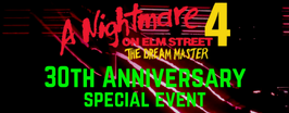 A Nightmare on Elm Street 4: The Dream Master 30th anniversary screening