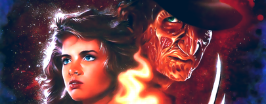 Nancy Thompson and Freddy Krueger Comics