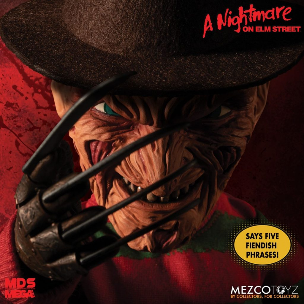 Mezco's New Mega Scale Talking Freddy Krueger